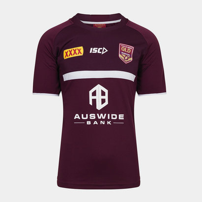 ISC Queensland Maroons State of Origin 2019 Rugby Training T-Shirt