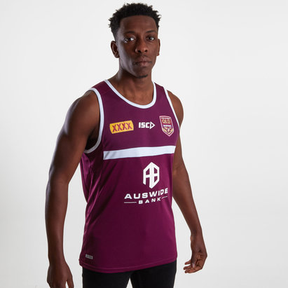 ISC Queensland Maroons State of Origin 2019 Rugby Training Singlet