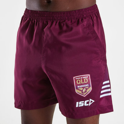 ISC Queensland Maroons State of Origin 2019 Rugby Training Shorts