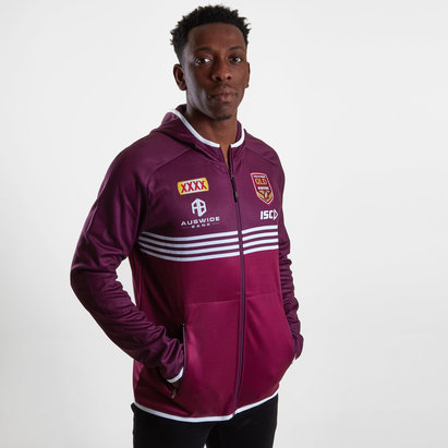 ISC Queensland Maroons State of Origin 2019 Players Hooded Rugby Sweat