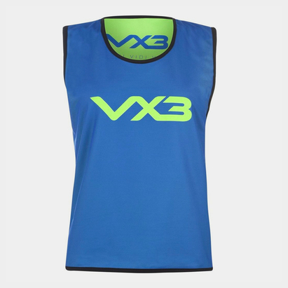 VX-3 Reversible Mesh Hi Viz Training Bib Junior