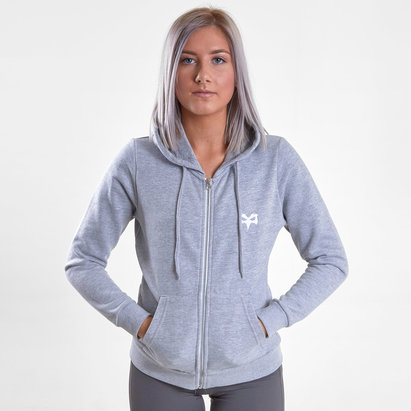 Ospreys Anna Ladies Full Zip Rugby Sweat