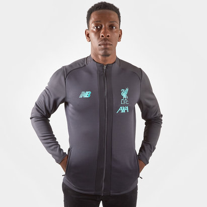 New Balance Liverpool Tracksuit Top Mens