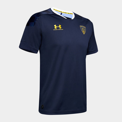 Under Armour Clermont Auvergne 2019/20 3rd S/S Replica Rugby Shirt