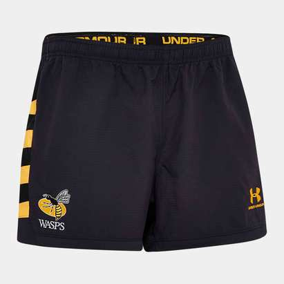 Under Armour Wasps 2019/20 Home Players Rugby Shorts