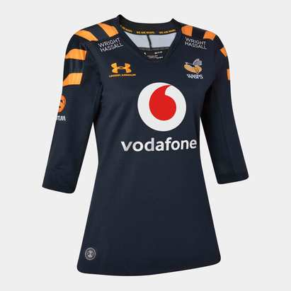 Under Armour Wasps 2019/20 Ladies Home S/S Replica Rugby Shirt