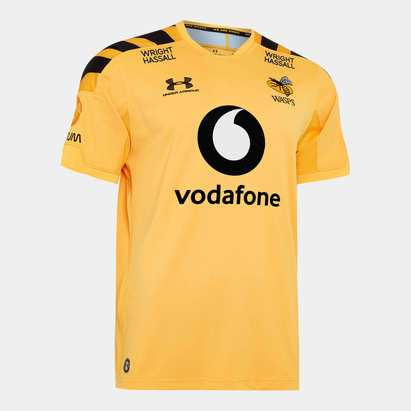 Under Armour Wasps 2019/20 Kids Alternate S/S Replica Rugby Shirt