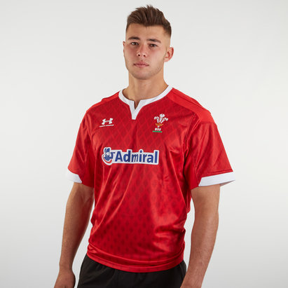 Under Armour Wales WRU 7s 2019/20 Home S/S Replica Rugby Shirt