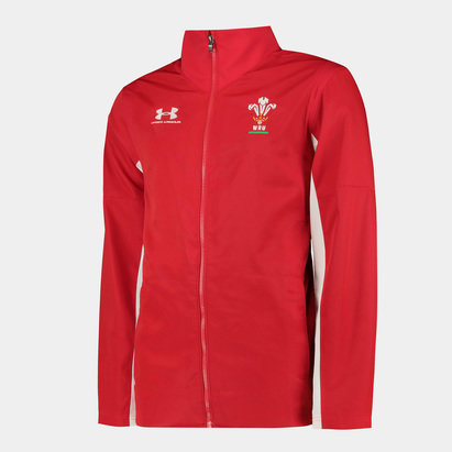 Under Armour Wales WRU 2019/20 Players Presentation Rugby Jacket