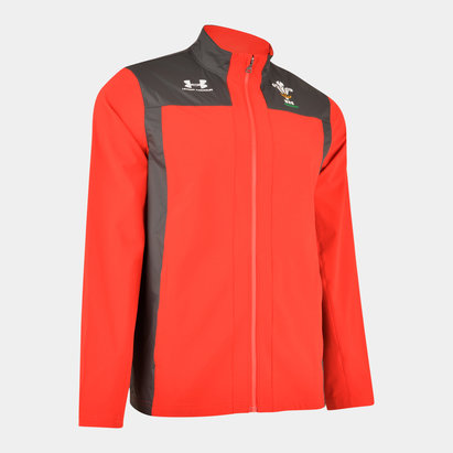 Under Armour Wales WRU 2019/20 Players Travel Rugby Jacket