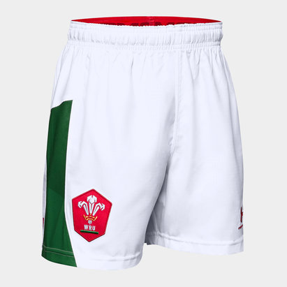 Under Armour Wales WRU 2019/20 Kids Alternate Rugby Shorts