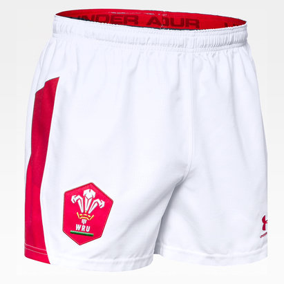 Under Armour Wales WRU 2019/20 Kids Home Rugby Shorts