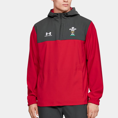Under Armour Wales WRU 2019/20 Supporters Hooded Rugby Jacket