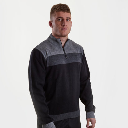 Ospreys Contrast 1/4 Zip Rugby Top