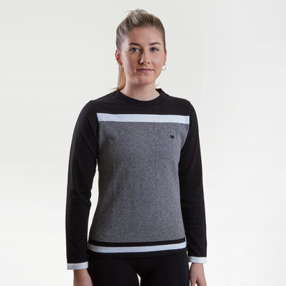 Ospreys Ladies Pattern Rugby Crew Sweat