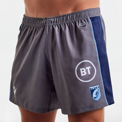 Macron Cardiff Blues 2019/20 Alternate Rugby Shorts