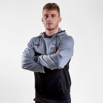 Newcastle Falcons 2017/18 Squad Hooded Rugby Sweat