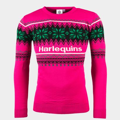 Harlequins 2021 Christmas Jumper Adults