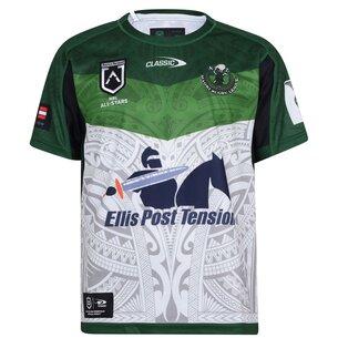 Classic Sportswear Sportswear New Zealand Maori Rugby League Home Jersey
