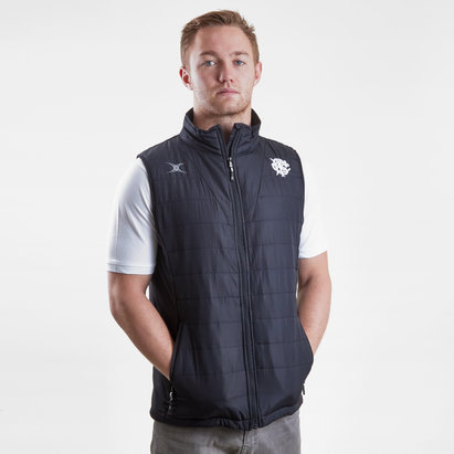 Gilbert Barbarians 2019 Pro Bodywarmer Rugby Gilet
