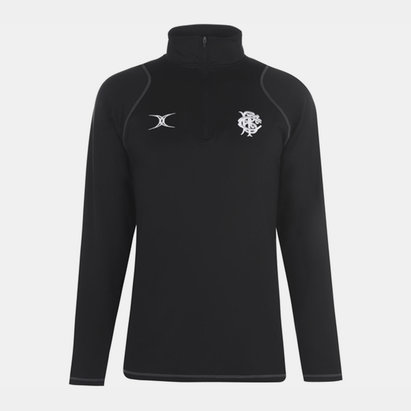 Gilbert Barbarians 2019 Players 1/4 Zip Rugby Training Top