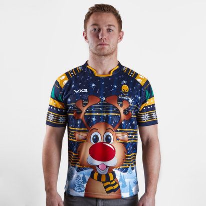 VX-3 Worcester Warriors 2018 Christmas Rugby Shirt