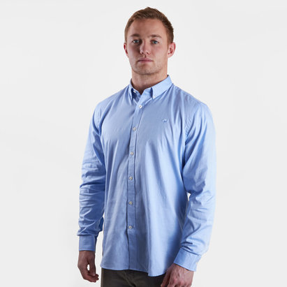 Raging Bull Stretch Pinpoint Oxford L/S Shirt