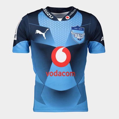 Puma Bulls 2019 Kids Home Super Rugby S/S Shirt