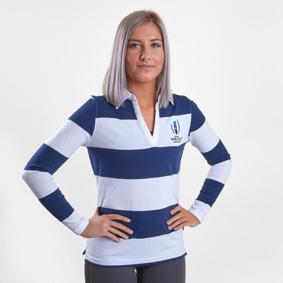 RWC 2019 L/S Stripe Ladies Shirt