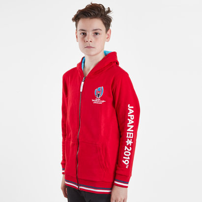 RWC 2019 Kids Full Zip Hooded Sweat