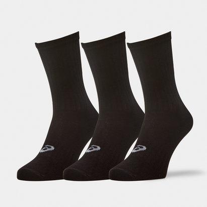 Asics Three Pack Crew Socks