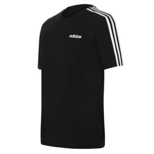 adidas 3 Stripe Essential T Shirt Mens