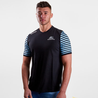 Macron Glasgow Warriors 2017/18 Off Field Rugby T-Shirt