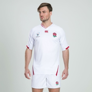 Canterbury England RWC 2019 Home Pro S/S Rugby Shirt