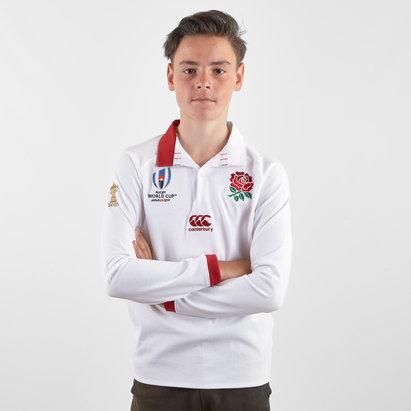 Canterbury England RWC 2019 Kids Home Classic L/S Shirt