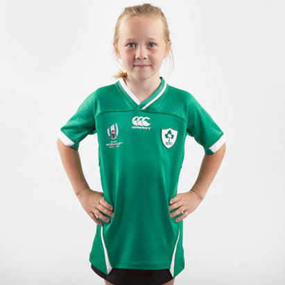 Canterbury Ireland RWC 2019 Home Pro Shirt Junior