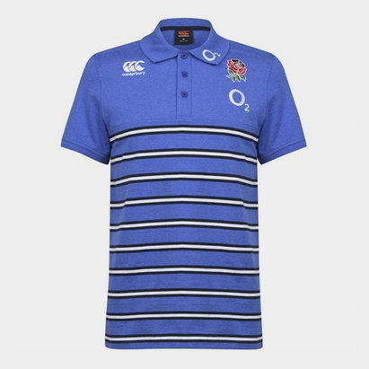Canterbury England Short Sleeve Polo Shirt Mens