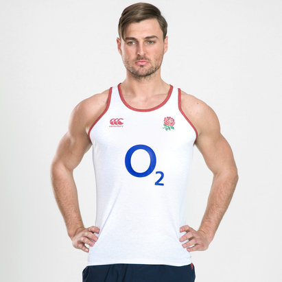 Canterbury England 2019/20 Poly Rugby Training Singlet