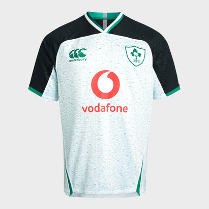 Canterbury Ireland IRFU 2019/20 Kids Alternate Pro S/S Rugby Shirt