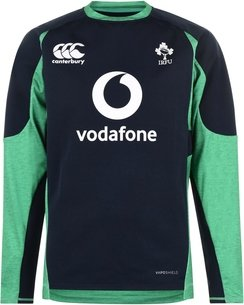 Canterbury Ireland IRFU 2019/20 Players Tech Drill Rugby Training Top