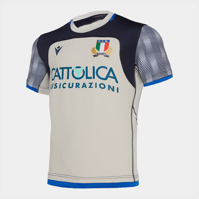 Macron Italy 2019/20 Players S/S Rugby Training Shirt