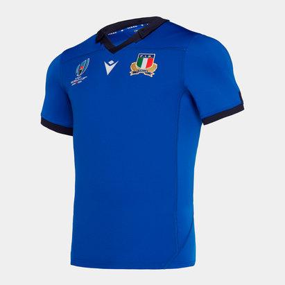 Macron Italy RWC 2019 Home Test S/S Shirt