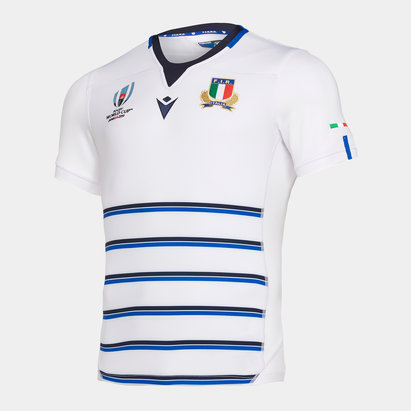 Macron Italy RWC 2019 Alternate S/S Replica Shirt