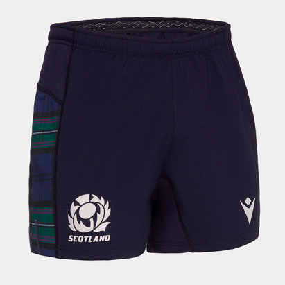 Macron Scotland 2019/20 Home Players Rugby Shorts