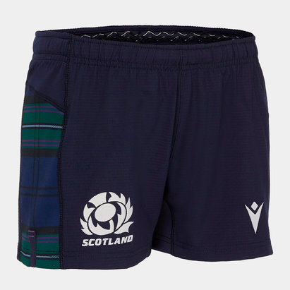 Macron Scotland 2019/20 Home Kids Rugby Shorts