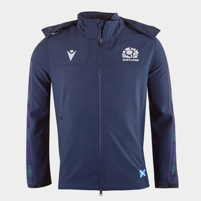Macron Scotland 2019/20 Players Softshell Rugby Jacket