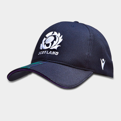 Macron Scotland 2019/20 Players Rugby Baseball Cap