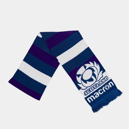 Macron Scotland 2019/20 Supporters Double Layer Rugby Scarf