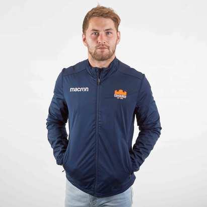 Macron Edinburgh 2019/20 Players Anthem Rugby Jacket