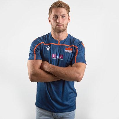 Macron Edinburgh 2019/20 Players Rugby Training T-Shirt
